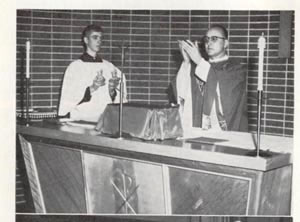 1965, messe de transition